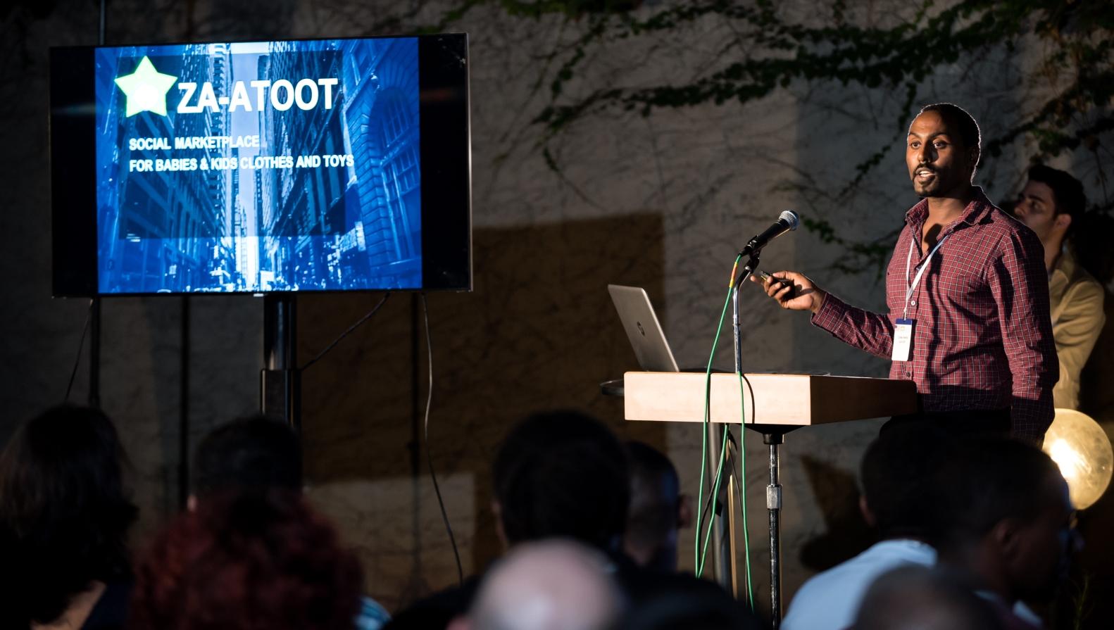 Tomer Avera, head of the Za-atoot team and QA software engineer at DSP Group. Photo by Benny Woodo/Camera Brush