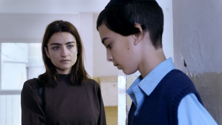 Israeli Ania Bukstein in the film, A Quiet Heart. Photo courtesy