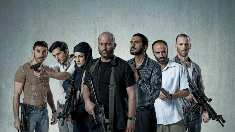 Cast of Fauda (Chaos), the thrilling Israeli television series focusing on an undercover counterterrorism unit. Courtesy photo