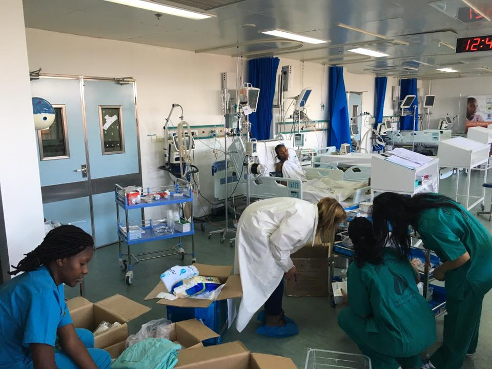 The Jakaya Kikwete Cardiac Institute hosted the Israeli and German doctors and nurses. Photo courtesy of SACH