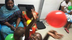 Children given new life by Save a Child's Heart/Deutsches Herzzentrum joint medical mission to Dar es Salaam. Photo by Debra Silver/SACH