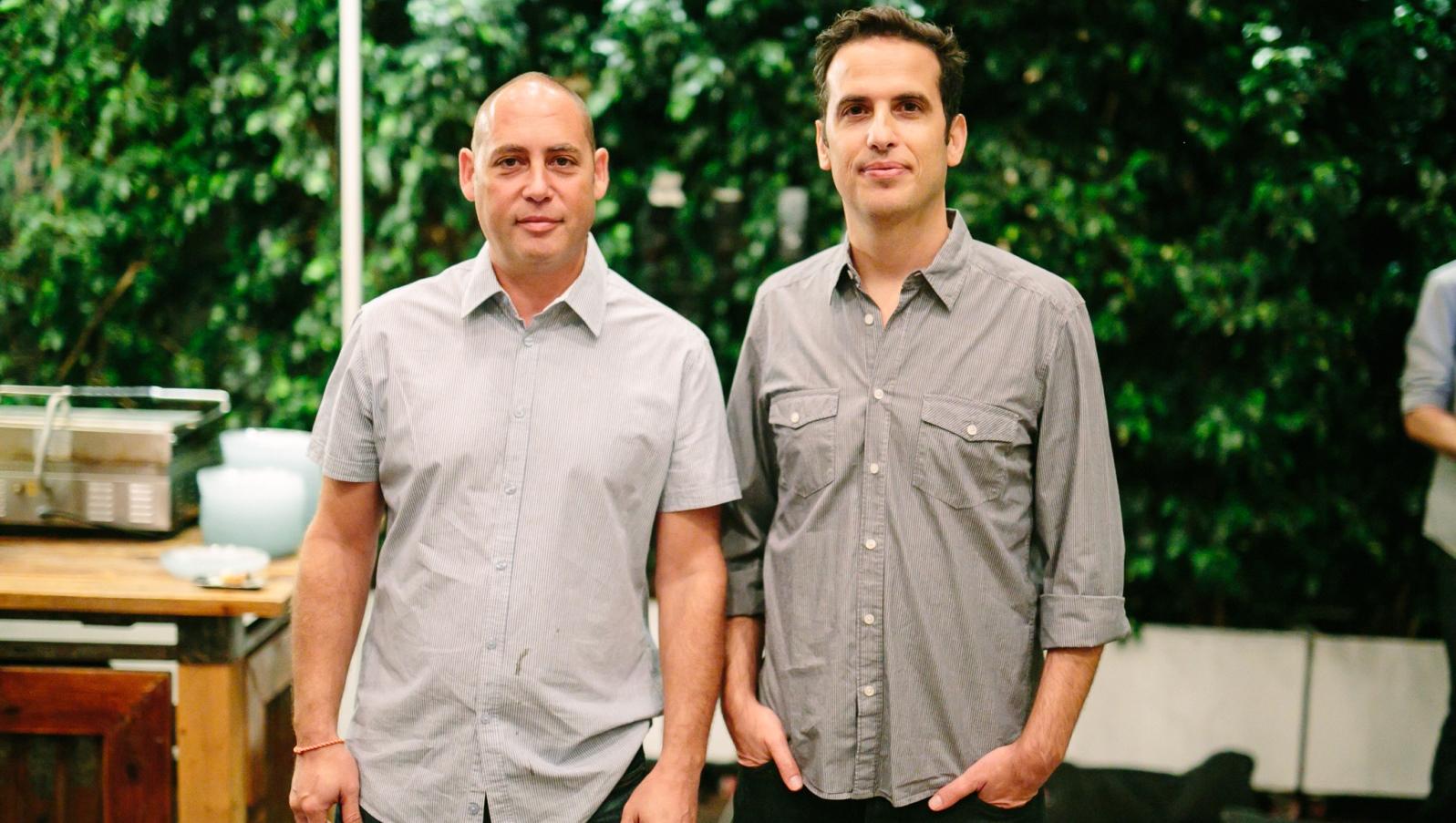 examPAL cofounders Oren Jackman and Ben Peer. Photo by Noa Magger