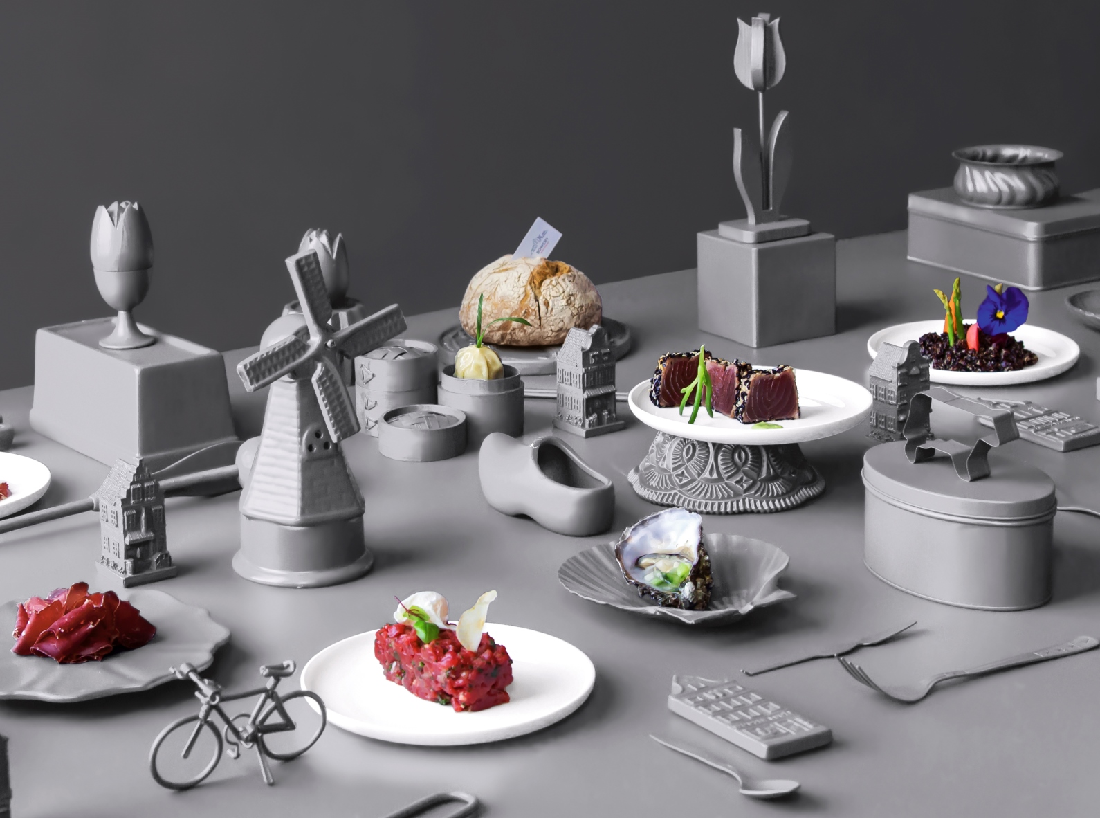 Sweet Sins, a culinary exhibition by chef Ido Garini. Photo: courtesy