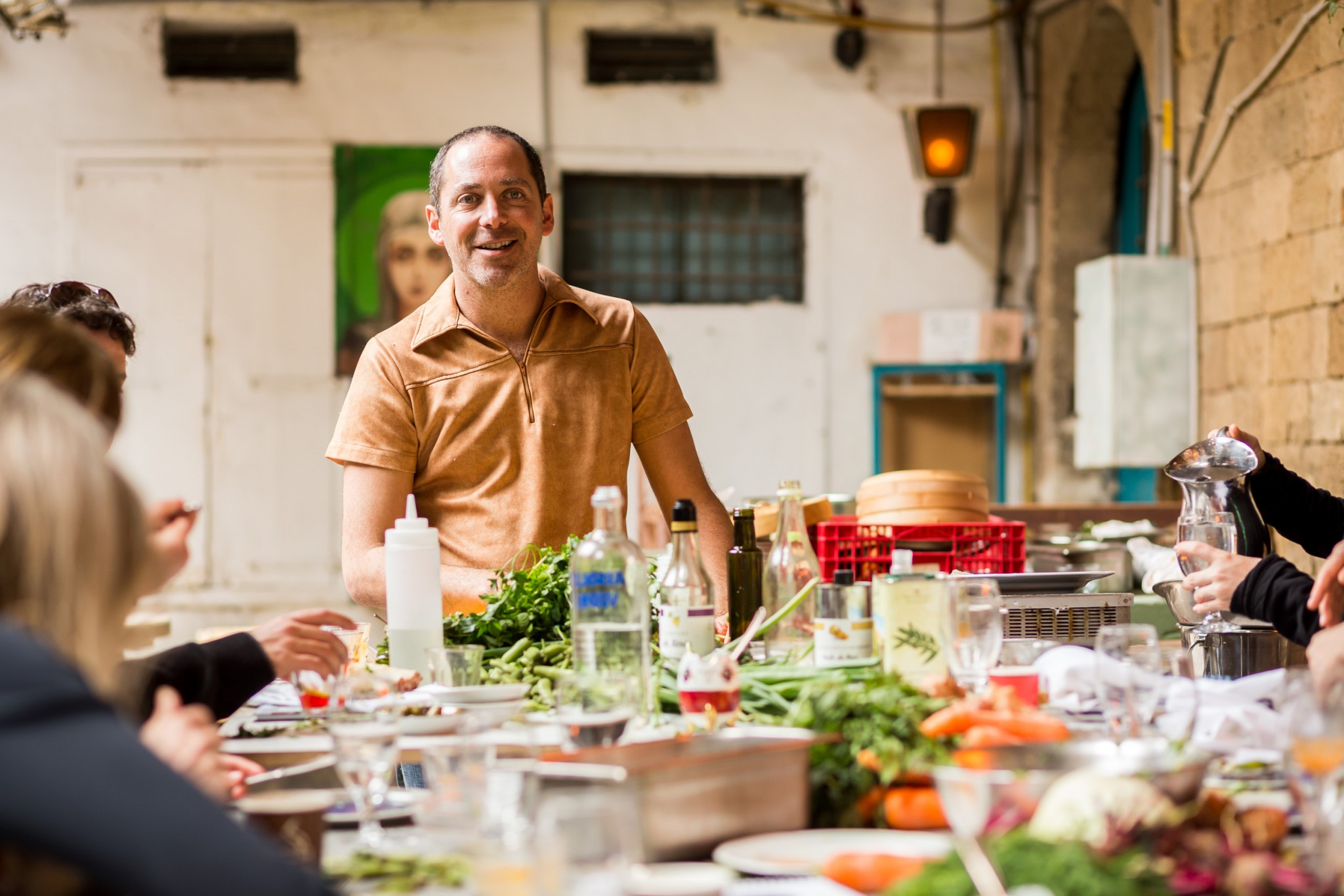 Chef Nir Zook of Mapu in Jerusalem. Photo by Tomer Foltyn