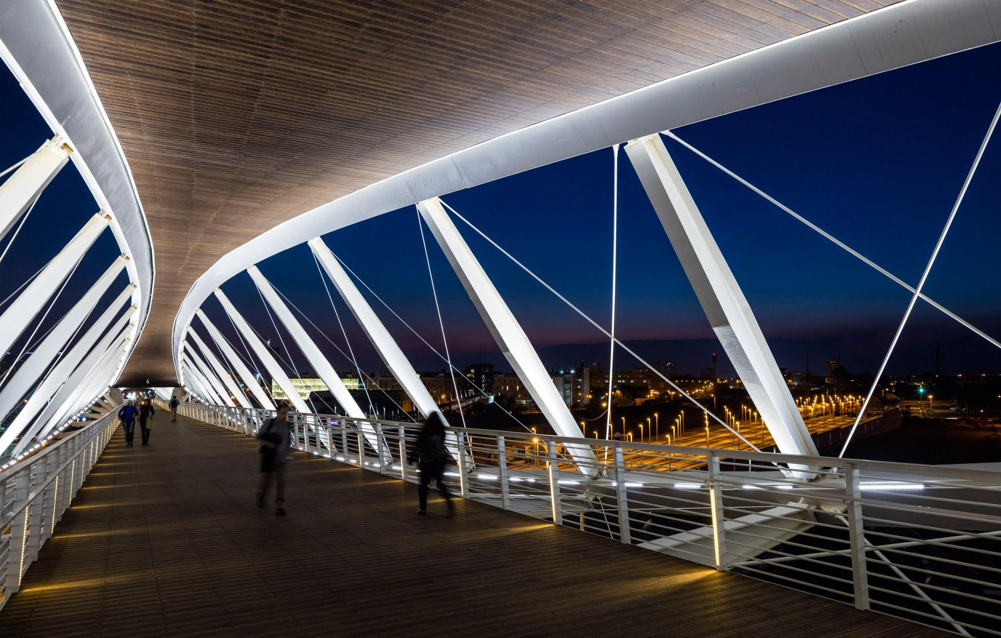 Beersheva Station Bridge. Photo by Amit Geron