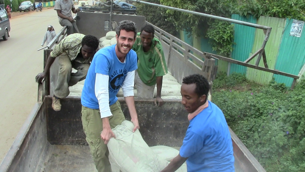 A member of EwB Rehovot volunteering in Mekelle, Ethiopia. Photo: courtesy