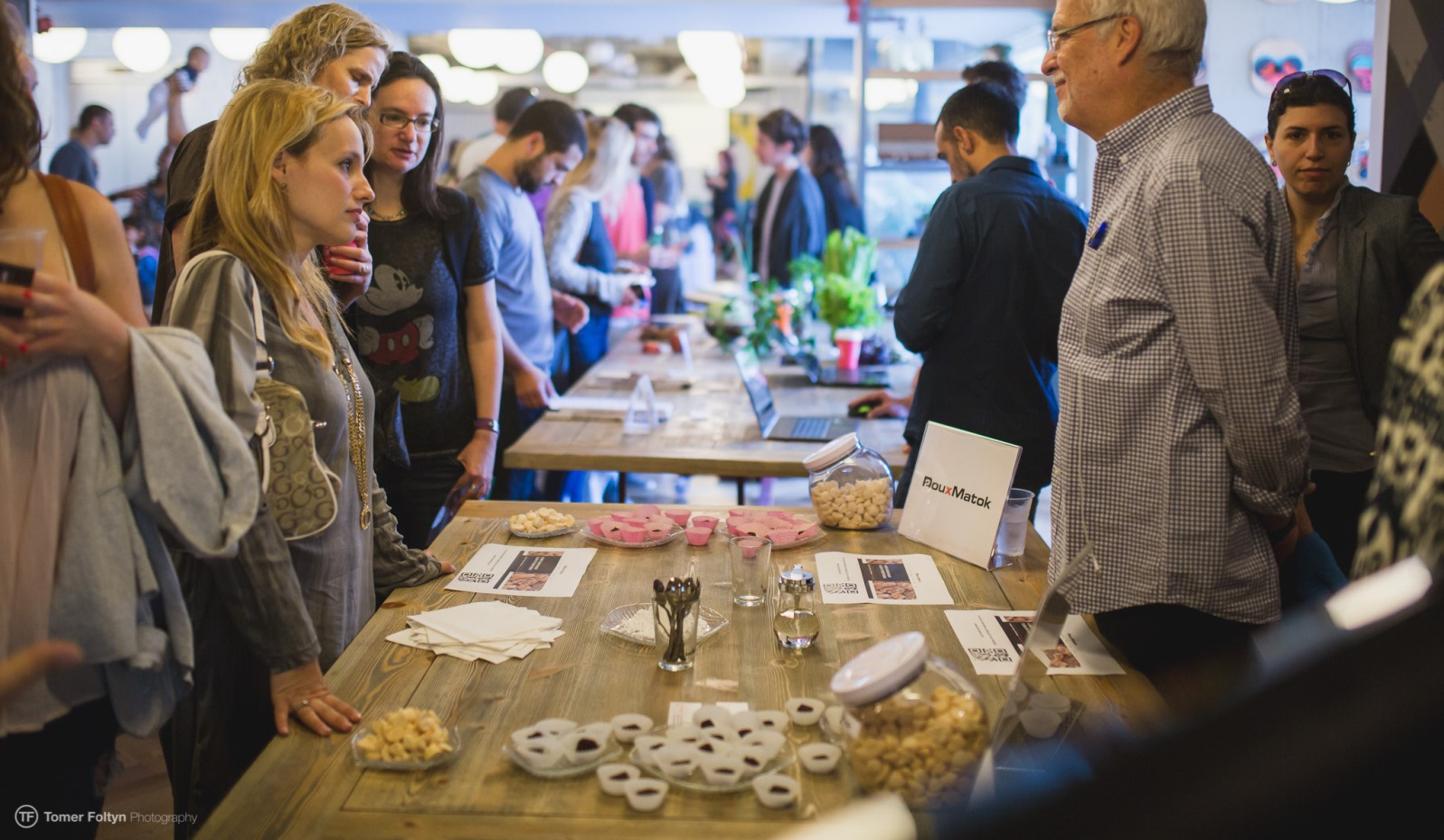 Food innovation on display in Jerusalem. Photo by Tomer Foltyn