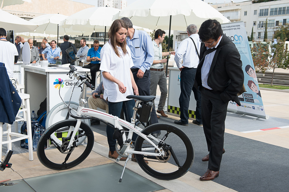 Smart transportation ideas were displayed at the Fuel Choices Summit 2016. Photo: courtesy