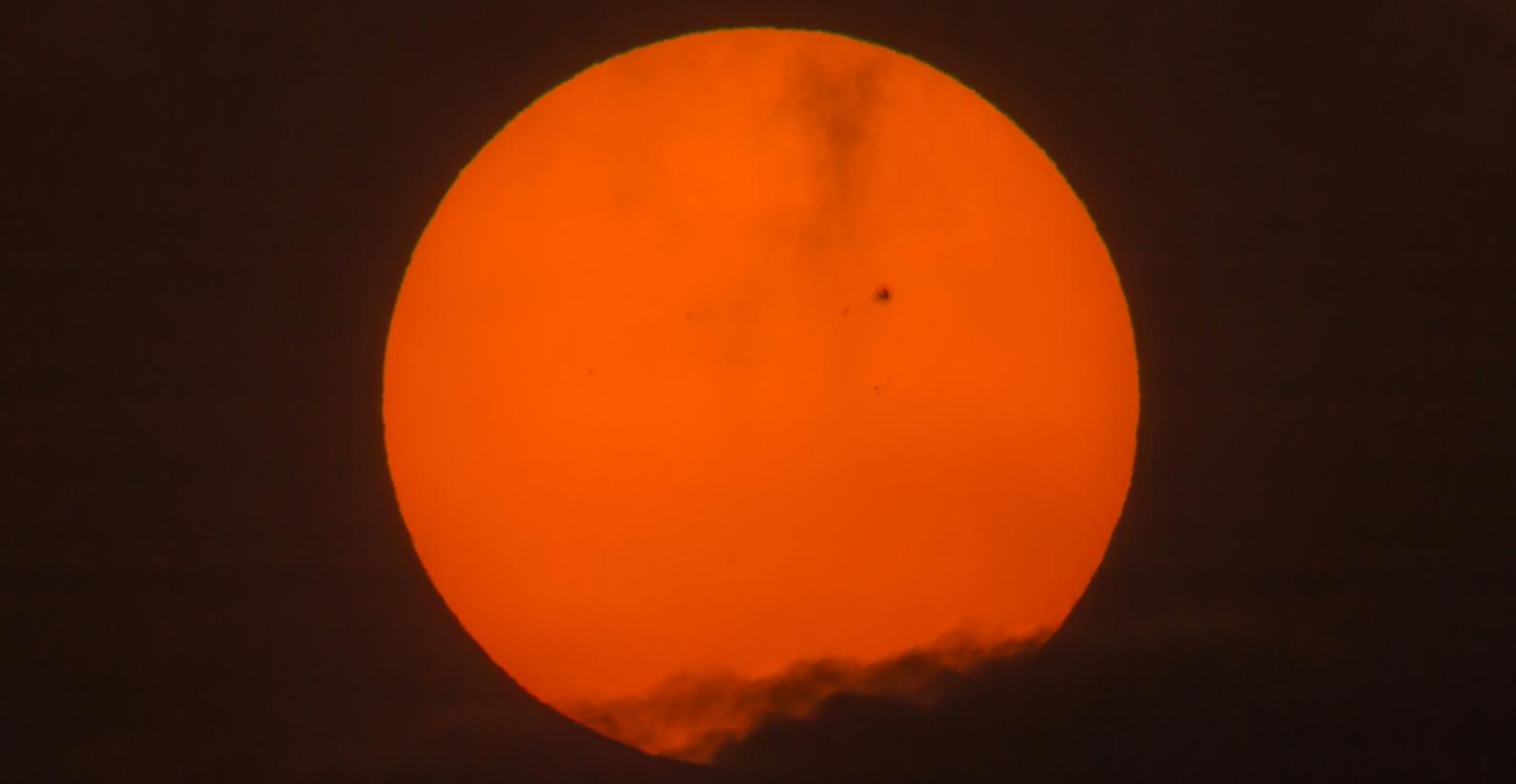 Sunspot image by PEERAPIXSCOM via Shutterstock.com