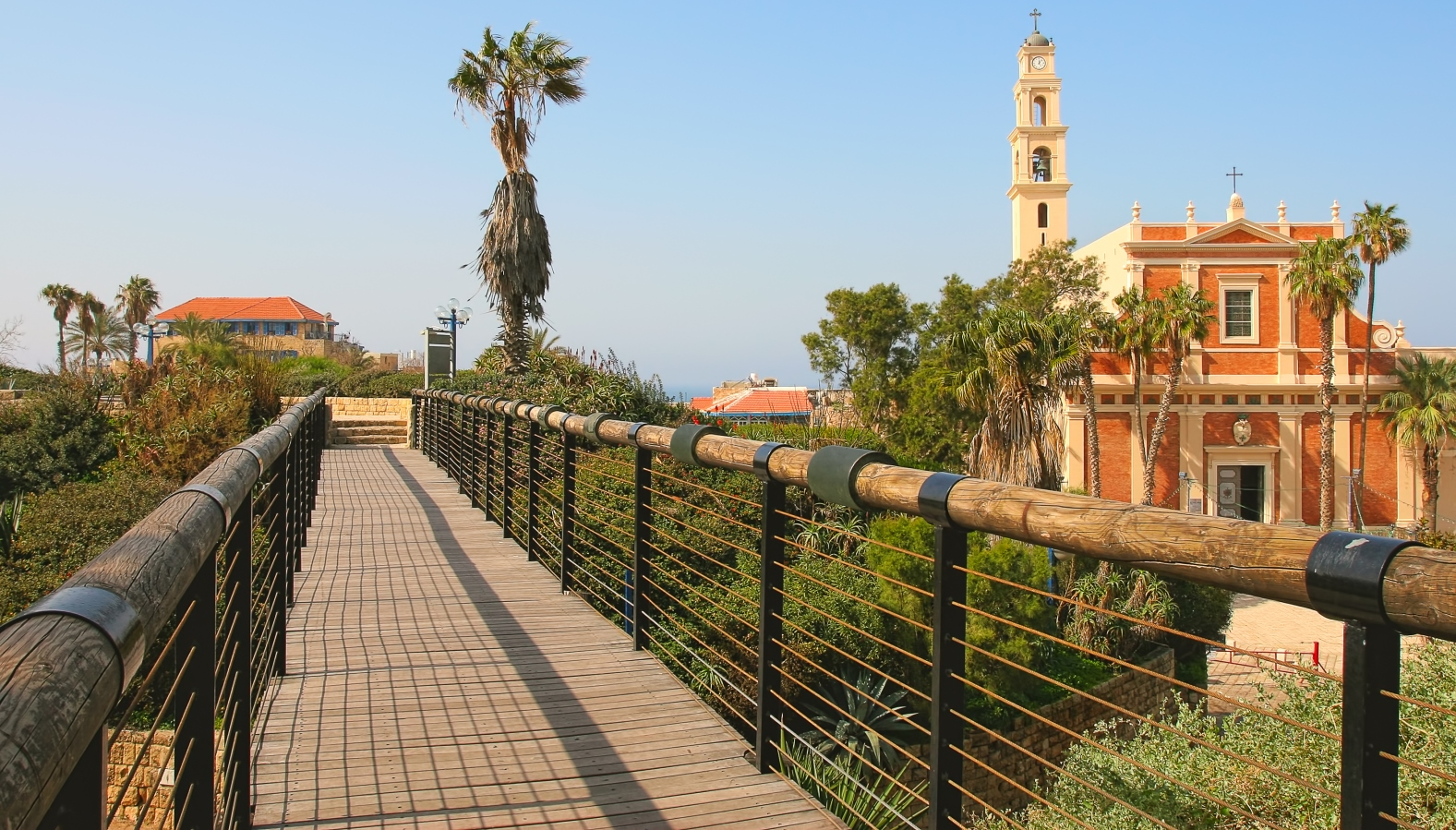 Wishing Bridge in Old Jaffa. Photo by Rostislav Glinsky via Shutterstock.com