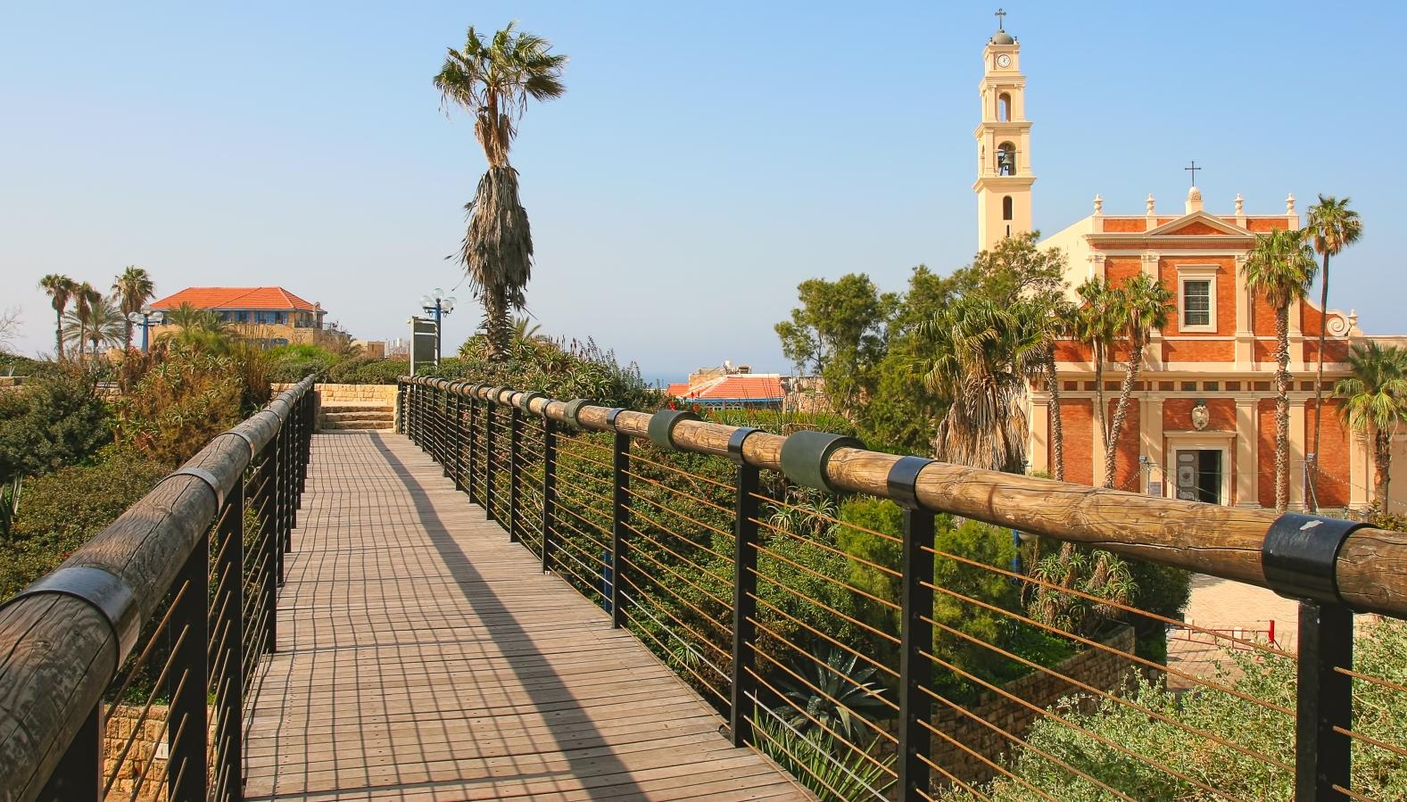 Wishing Bridge in Old Jaffa. Photo by Rostislav Glinsky via Shutterstock.com
