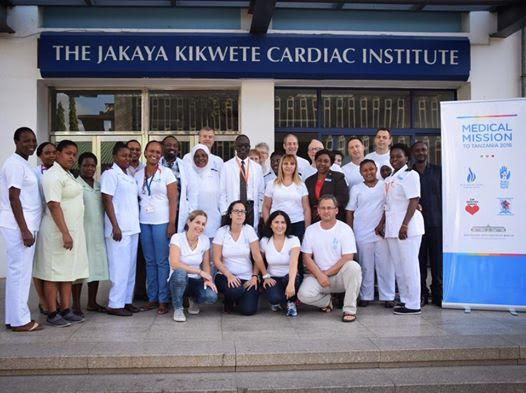 Save a Child's Heart/Deutsches Herzzentrum joint medical mission to Dar es Salaam. Photo by Debra Silver/SACH