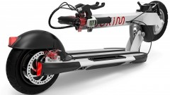 Inokim's Quick-3 e-scooter can be folded in three seconds. Photo: courtesy