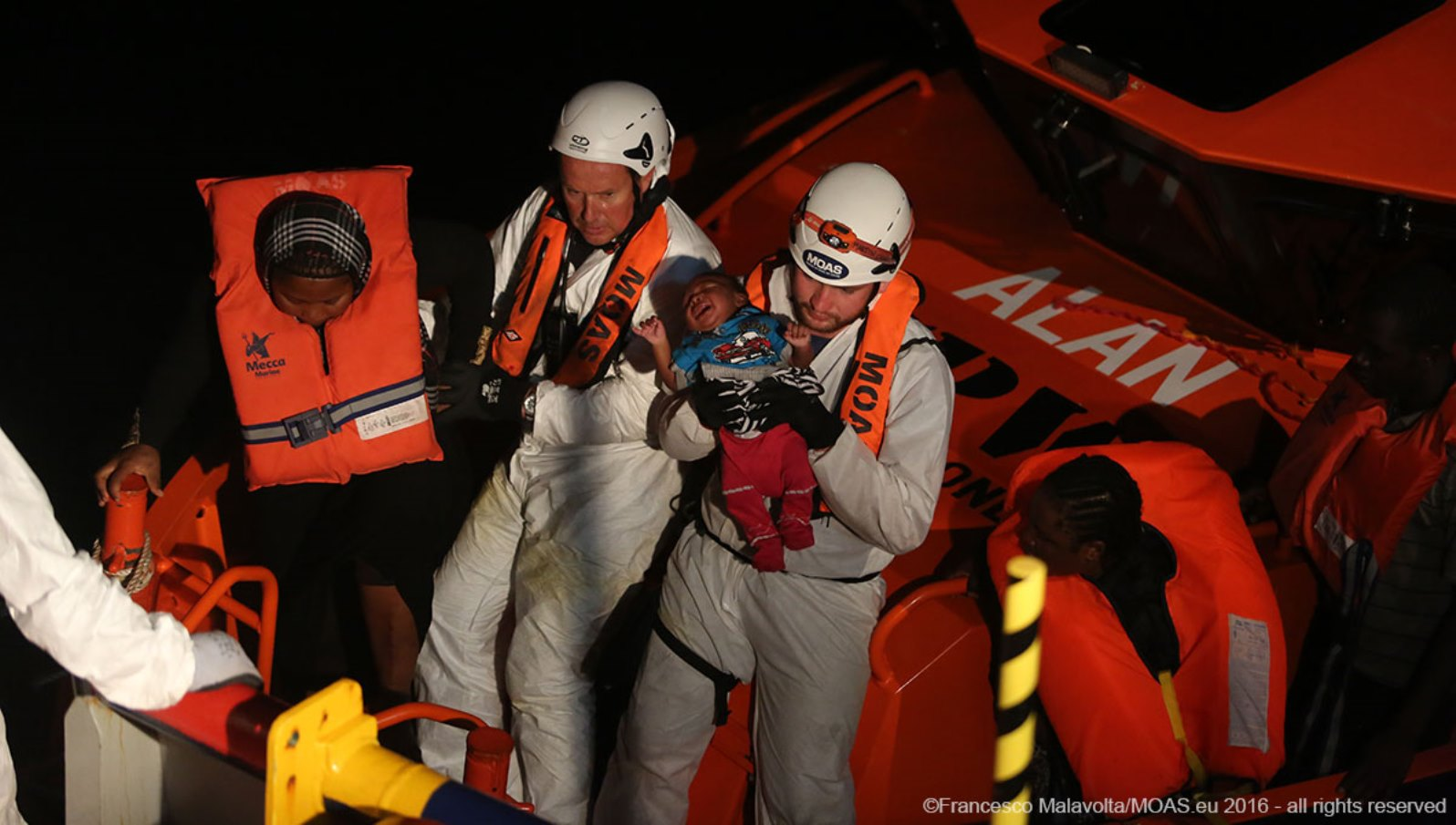 """When you save someone and he gets to live another day, that is a crazy feeling,"" says Israeli paramedic Izzy Papa. Photo by Francesca Malavolta/MOAS"