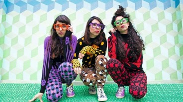A-WA sisters Tair, Liron and Tagel Haim. Photo by Hassan Hajjaj/a-wamusic.com