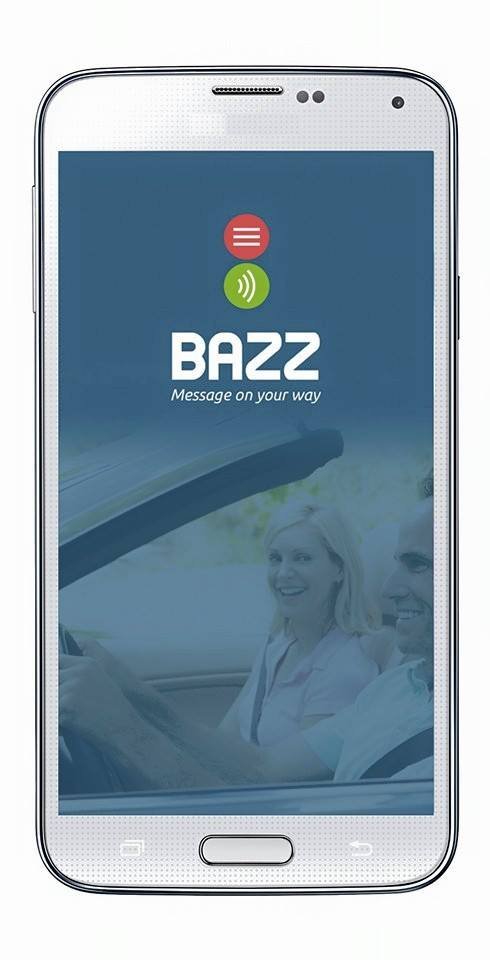 Bazz aims to reduce accidents caused by driving and texting. Screenshot courtesy of E.Soof