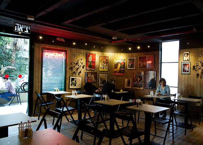 Diaghilev-eating: Backstage is a bar-cafe in the Diaghilev Live Art Boutique Hotel. Photo: courtesy