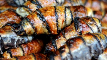 Chocolate rugelach. Photo by Sophie Gordon/Flash90