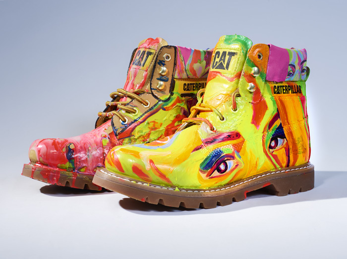 Russia's Boris Ponomarev redesigned these boots. Photo from catfootwear.com