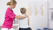 About 40,000 people undergo surgery for scoliosis correction in the US every year. Image via Shutterstock.com