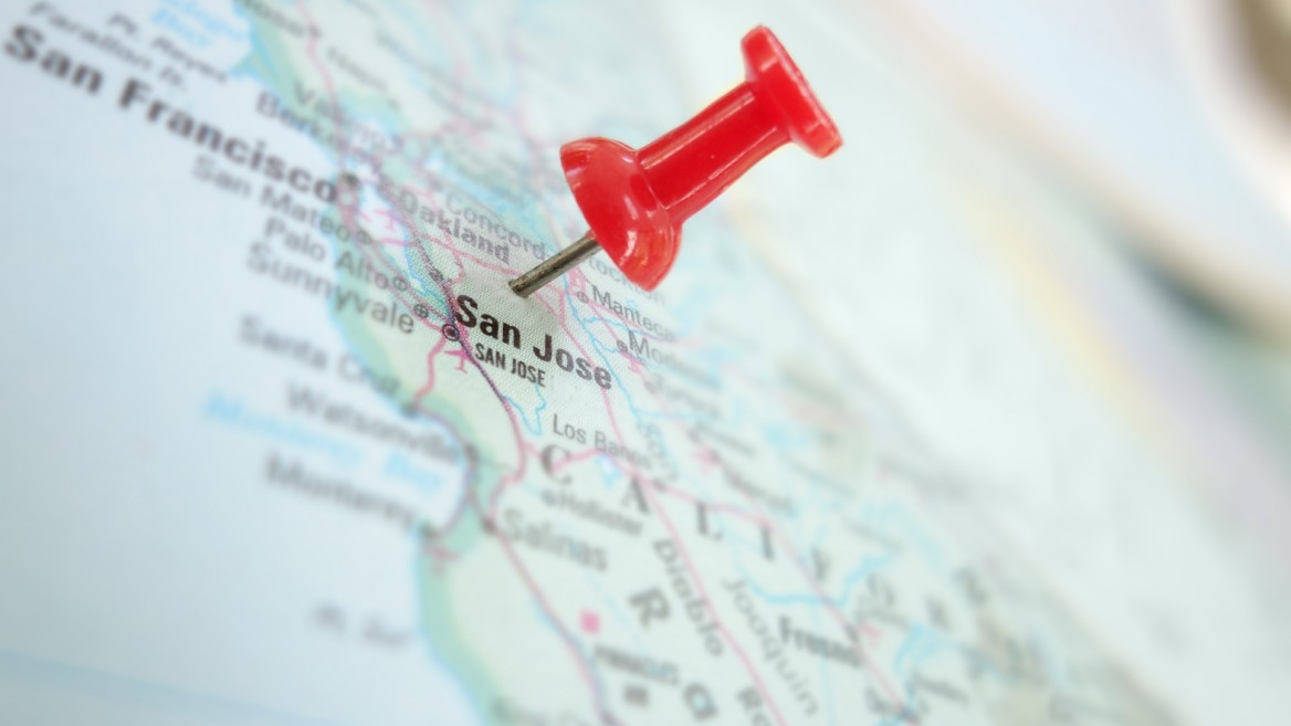Silicon Valley, home to many Israeli startups. Image via Shutterstock.com