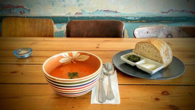 Chase away chills with a bowl of Israeli soup. Photo courtesy of Hamarakia, Jerusalem