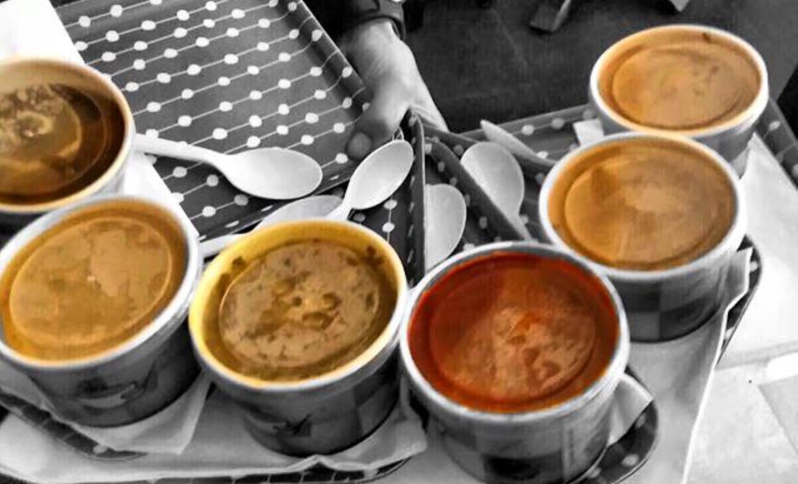 Dishing up soup at Zuppa. Photo via Facebook