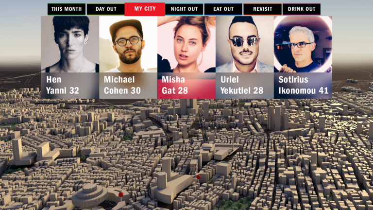 Choose which aspects of city life to experience virtually with the Tel Aviv Time Out VR City Guide. Photo: courtesy