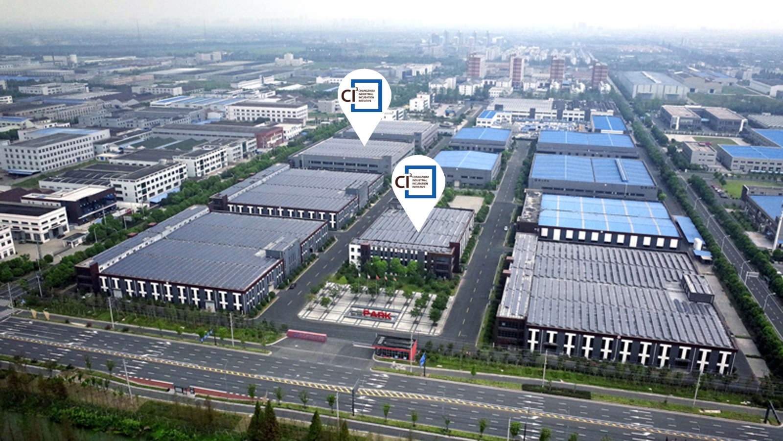 Aerial view of the CI3 incubator in Changzhou. Photo: courtesy