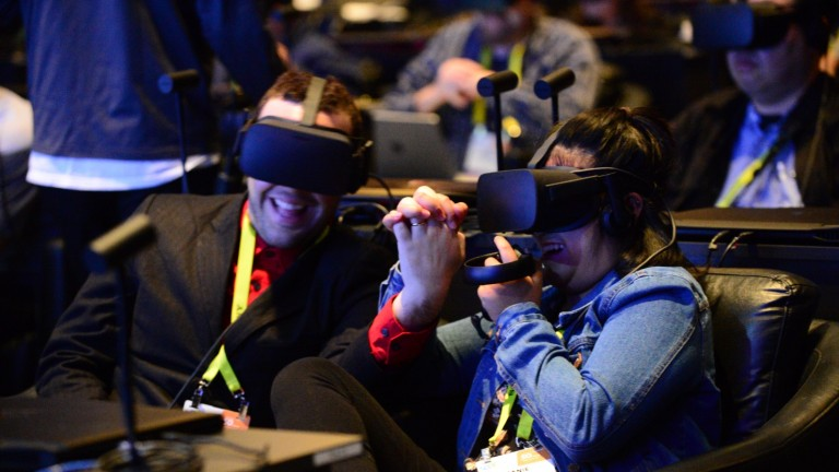 Intel Haifa created the tech inside the Project Alloy VR headset demonstrated at CES 2017. Photo: courtesy