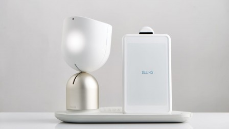 Intuition Robotics presents Elli•Q. Photo: courtesy