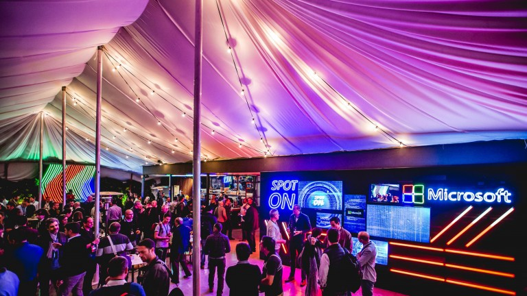 Microsoft Accelerator Tel Aviv debuts Spot On event. Photo by Tomer Foltyn