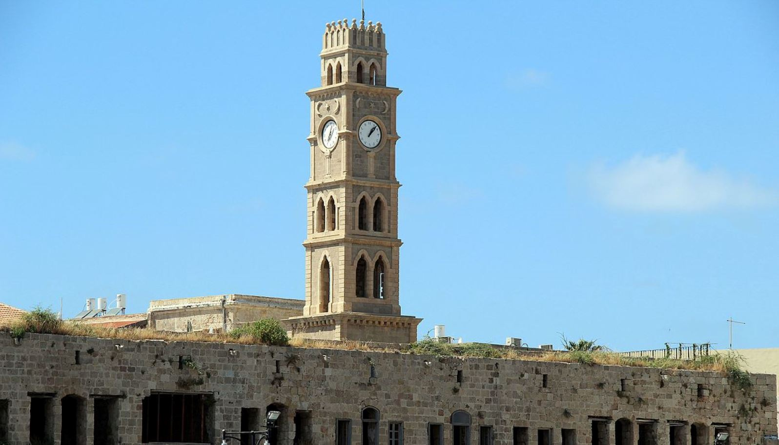 Acre clock tower photo by Larisa Sklar Giller/Wikimedia Commons