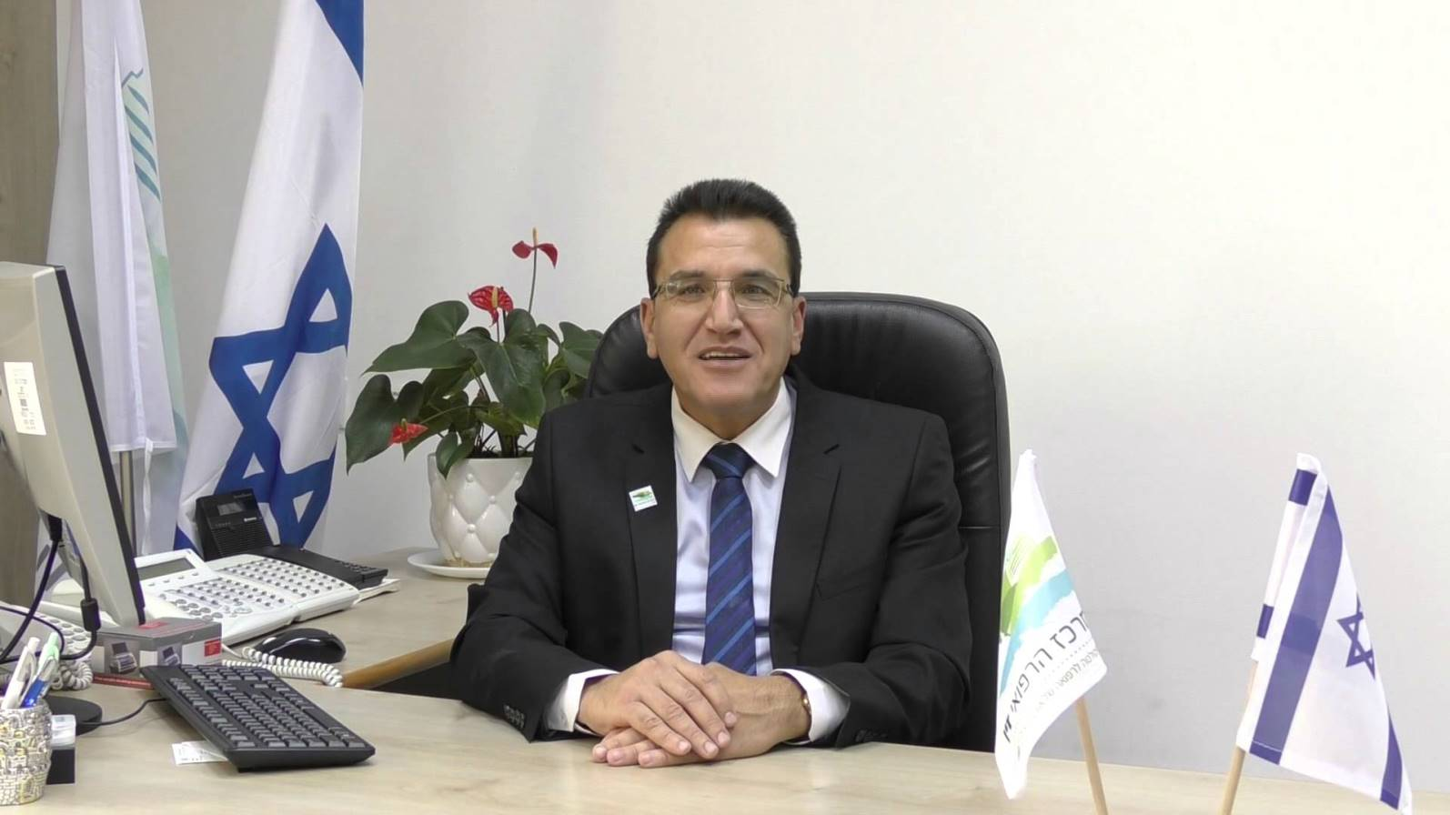 Dr. Salman Zarka, director-general of Ziv Medical Center. Photo via YouTube