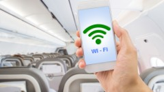 In-flight connectivity. Photo via Shutterstock.com