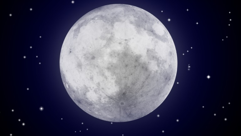 SpaceIL is in the final race to the moon. Image via Shutterstock.com