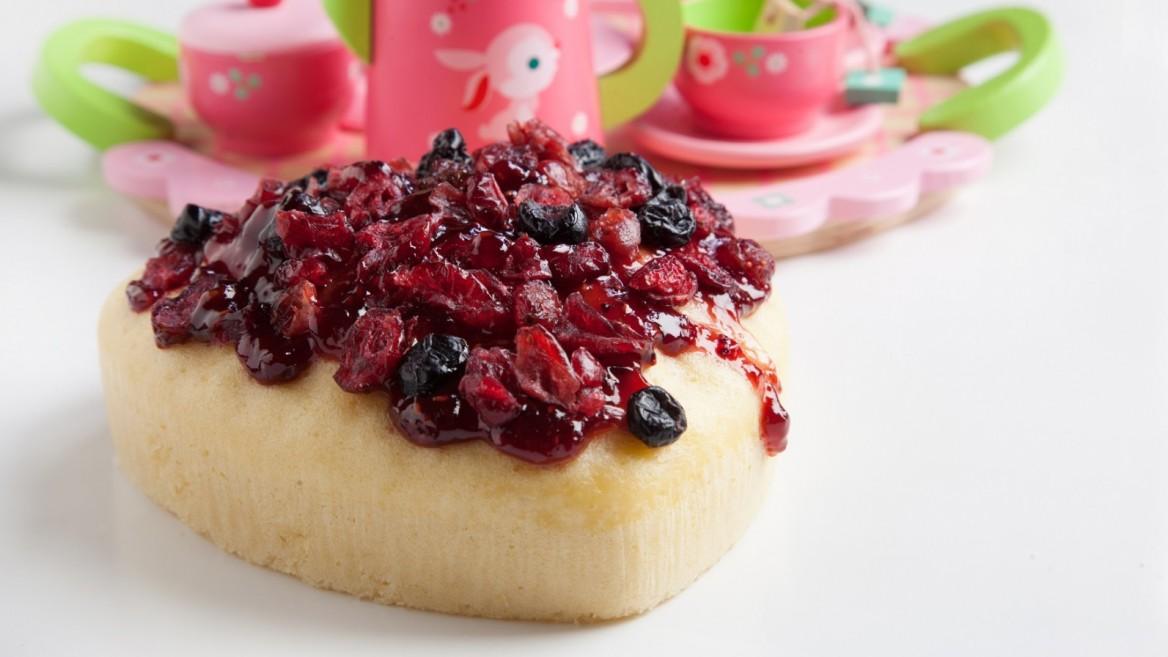 One of the UgaUga cake mix flavors is Vanilla Berry Scandal. Photo: courtesy