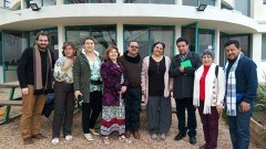 School principals and teachers from Paipa municipality in Colombia visit Israeli schools. Photo via Facebook