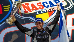 Alon Day at the NASCAR finals. Photo: courtesy