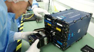 SpacePharma's DIDO 2 nanosatellite for micro-gravity research. Photo courtesy
