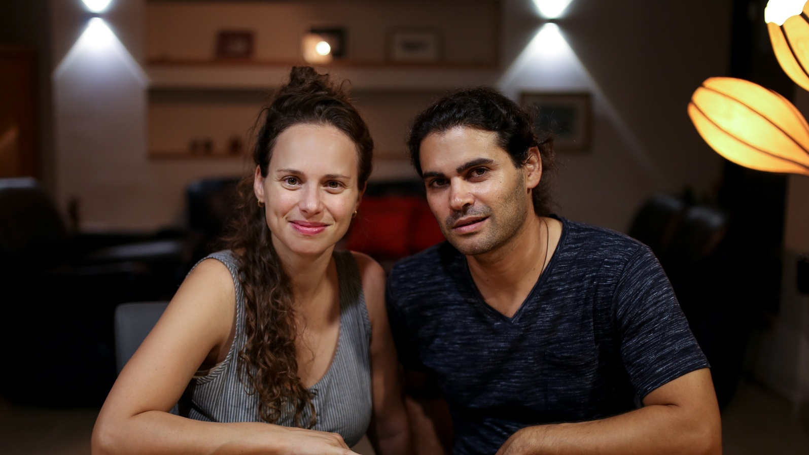 Efrat and Aviad Petel of Studio Mabua. Photo: courtesy