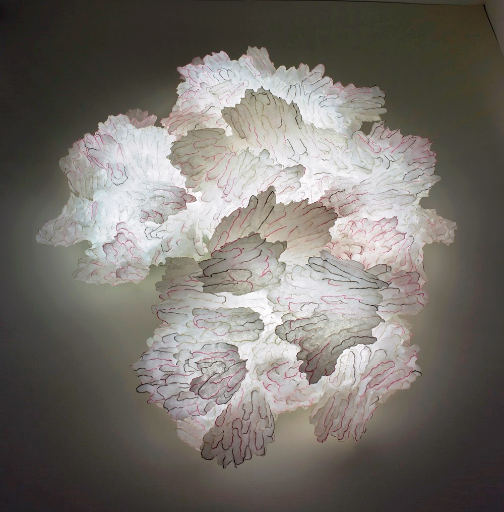 An example of Ayala Serfaty's Soma collection at the Corning Museum of Glass in New York State. Photo: courtesy