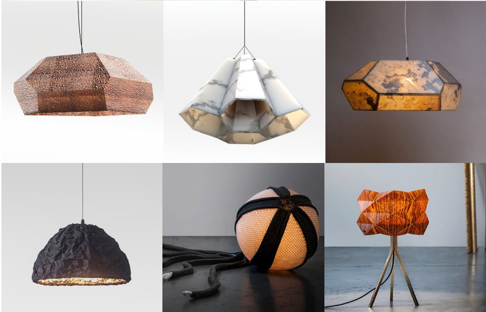 Light Fixtures By Ariel Zuckerman. Photo: Courtesy