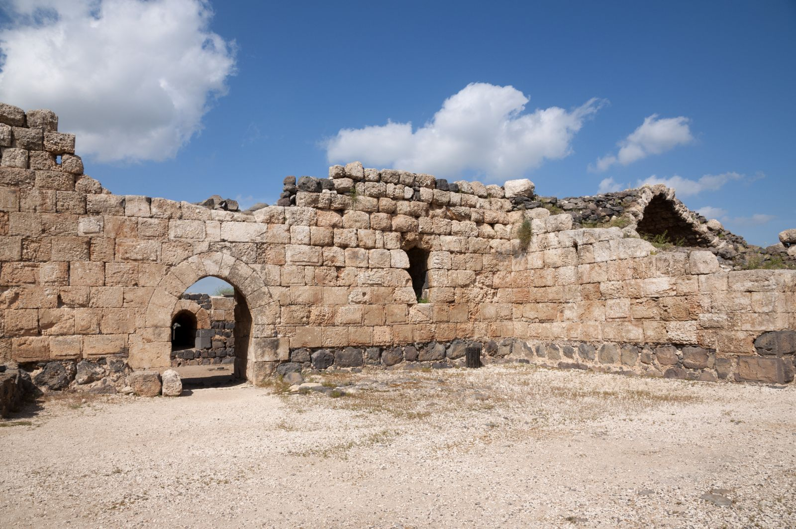 Belvoir Fortress in northern Israel. Image via Shutterstock.com