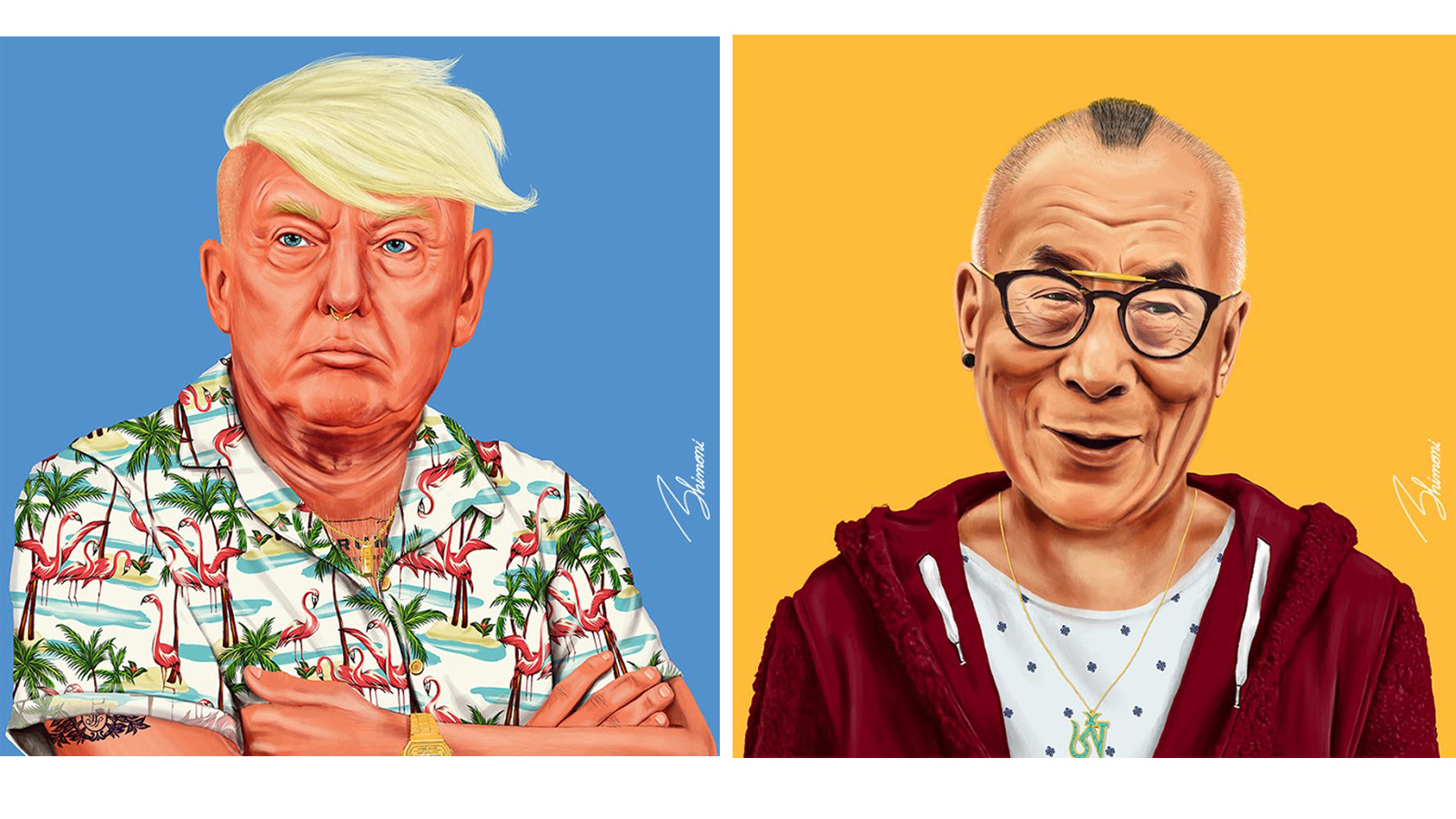 World Leaders And Cultural Icons Revamped As Hipsters Israel21c