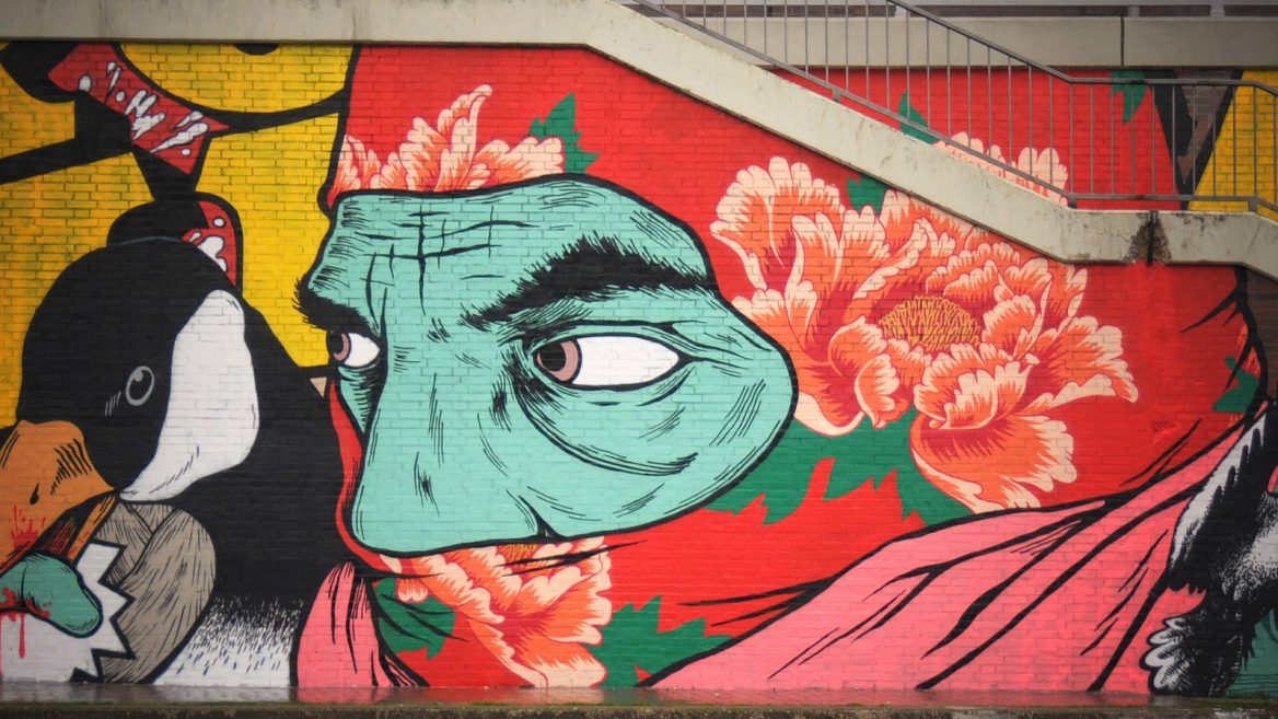 Broken Fingaz street art in Haifa. Photo courtesy & Israeli street art: Not just writing on the wall | ISRAEL21c