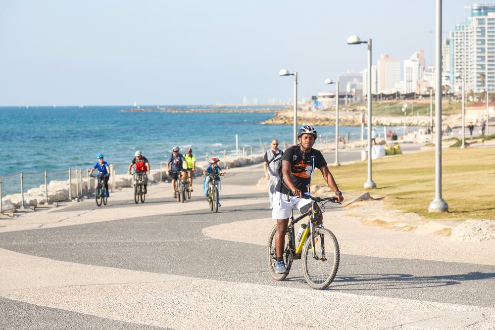 Hop on a bike from Tel Aviv to Jaffa