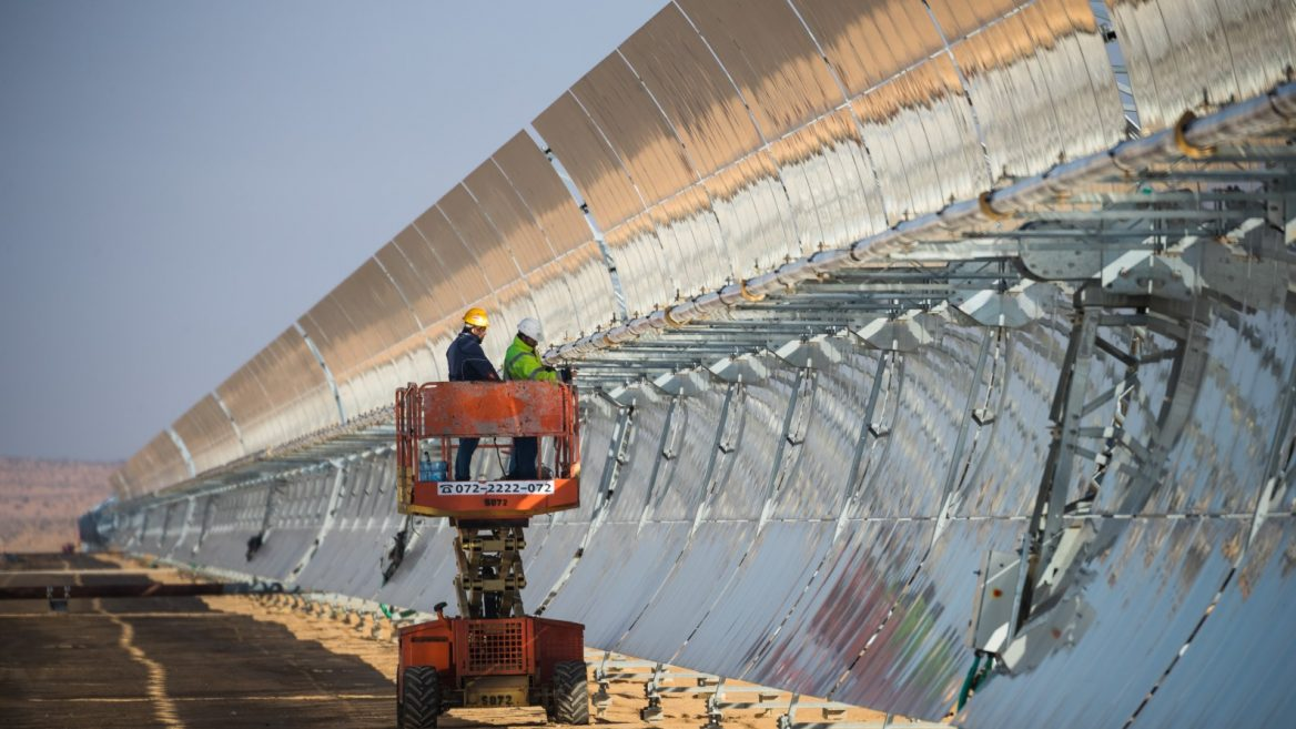 Take a tour of Israel's huge new solar-energy valley in the