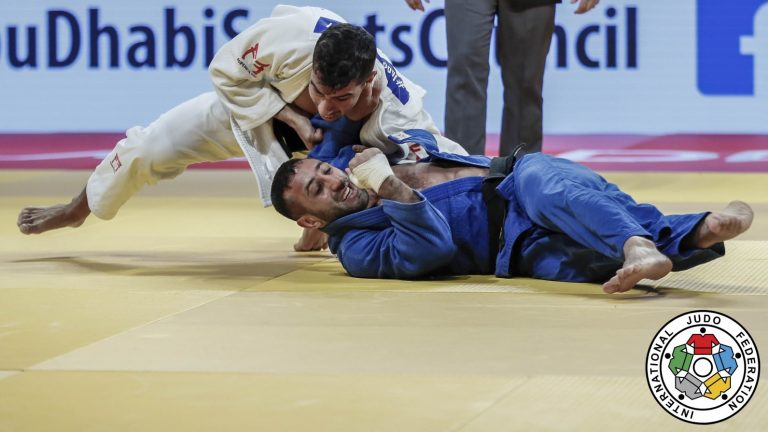 Israel takes gold in Abu Dhabi Grand Slam, but flag isn't raised