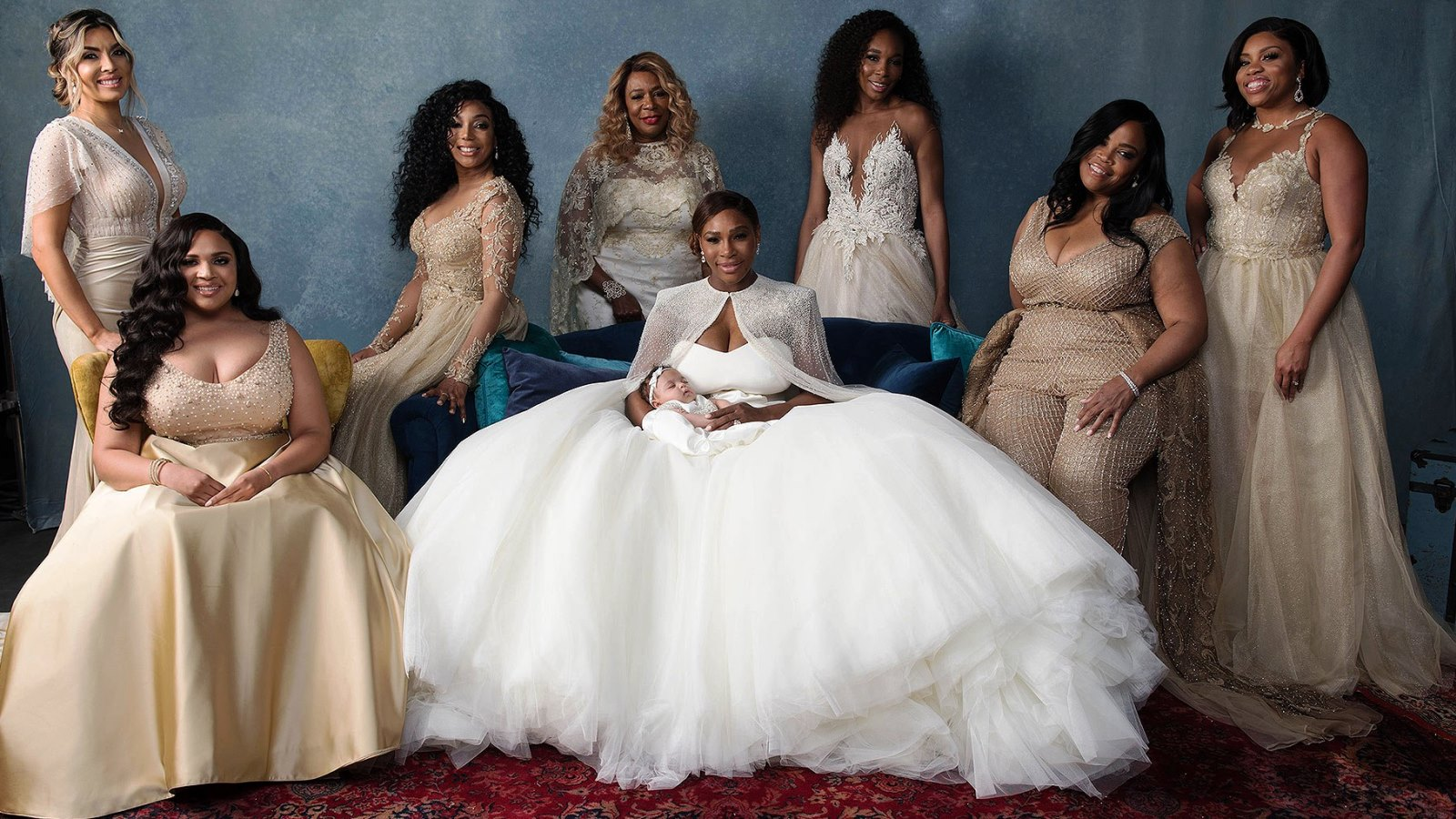 Israeli Designer Clothes Serena Williams' Bridal Party